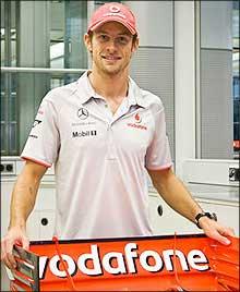 F1: Button aparece com as cores da McLaren pela primeira vez