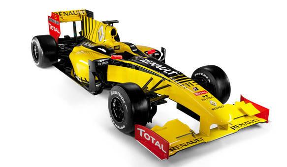 F1: Renault apresenta novo carro e confirma Petrov como titular
