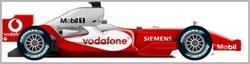 F1: McLaren apresenta seu novo carro nessa segunda-feira
