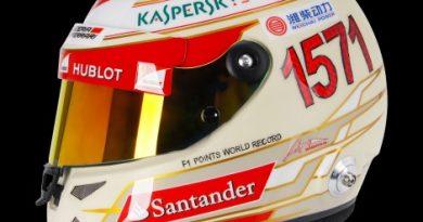 F1: Alonso estreia capacete no GP da Índia em alusão a recorde de pontos