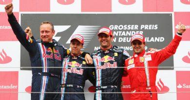 F1: Mesmo após drive-trough, Mark Webber vence pela primeira vez