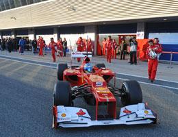 F1: Fernando Alonso lidera último dia de testes em Jerez