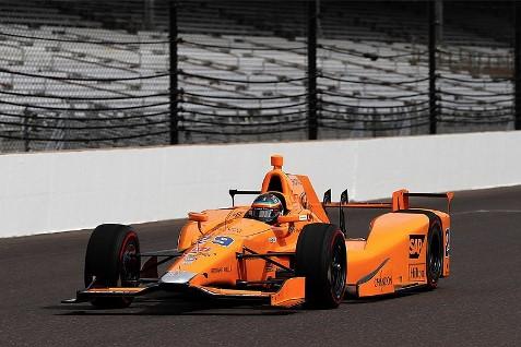 IndyCar: Fernando Alonso completa o teste de orientação para rookies