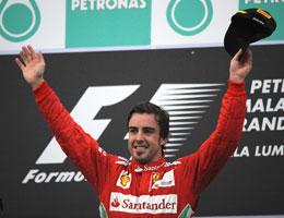 F1: Fernando Alonso vence GP da Malásia