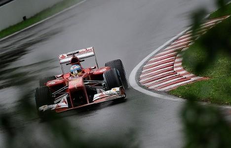 F1: Fernando Alonso é o mais rápido no Canadá