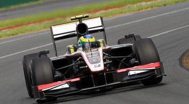 """F1: Bruno Senna comemora primeiro """"treino real"""""""