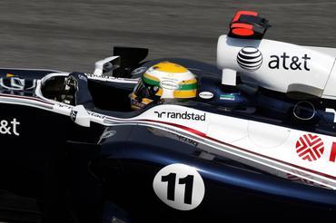 F1: Barrichello adora sua volta e está animado com a 12ª colocação no GP Brasil