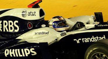 F1: Rubens larga em 6º lugar no GP de Cingapura