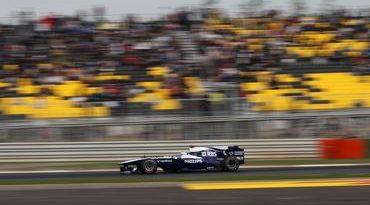 F1: Rubens cruza a linha de chegada em 7º no agitado GP da Coreia do Sul