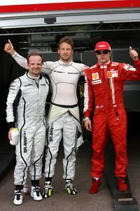F1: pós conquistar pole, Button elogia companheiro Barrichello