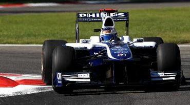 F1: Rubens faz boa largada, mas é prejudicado pela linha de fora na chicane