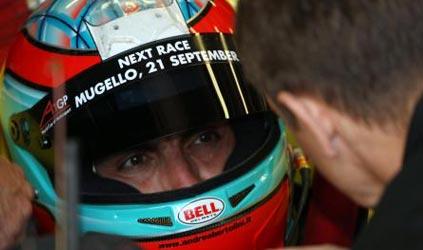 F1: Andrea Bertolini bate o recorde de Fiorano