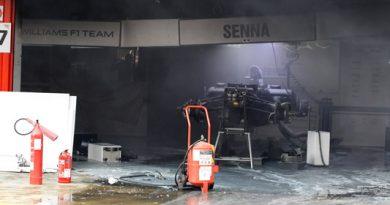 F1: Explosão no box da Williams deixa mecânicos feridos