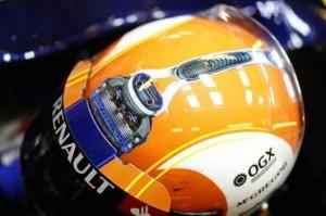 F1: Bruno Senna estreia novo desenho do capacete em Abu Dhabi