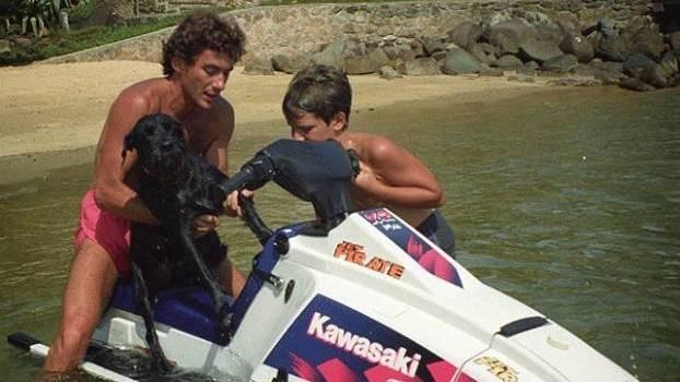 F1: Bruno Senna homenageia o tio Ayrton Senna