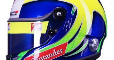 F1: Veja o novo capacete de Felipe Massa