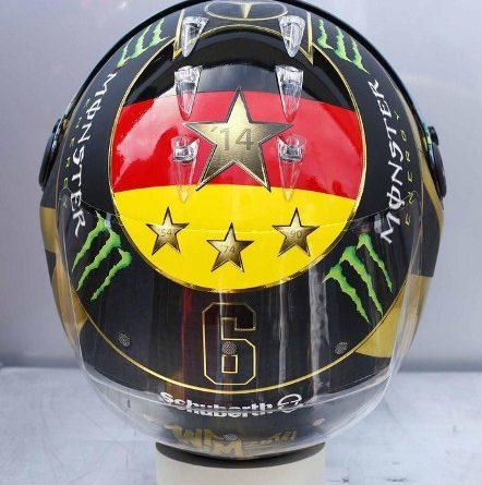 F1: Fifa proíbe Nico de usar desenho da taça da Copa do Mundo em capacete
