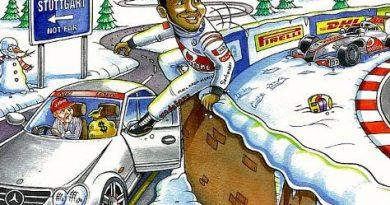 F1: Bernie zomba de acordo entre Hamilton e Mercedes em cartão natalino