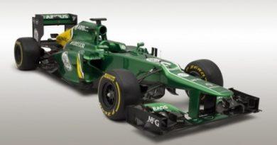 F1: Caterham mostra carro de 2013