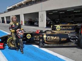 F1: Espanhola testa com a Lotus Renault na França
