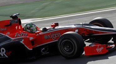 F1: De 22º para 19º na primeira volta. E fim de prova para Lucas di Grassi