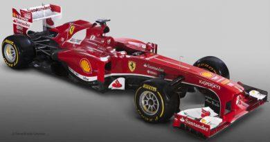 F1: Ferrari lança carro de 2013