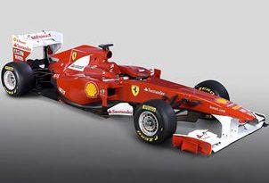 F1: Ferrari apresenta seu novo carro com homenagem à Itália