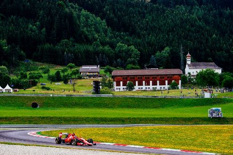 F1: Sebastian Vettel é o mais rápido na Áustria