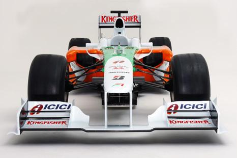 F1: Antes da estreia, Force India divulga fotos do novo carro