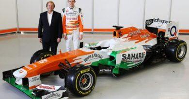 F1: Force India apresenta carro de 2013