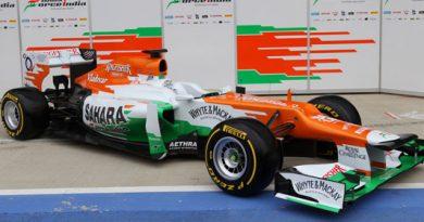 F1: Force India lança VJM05 para temporada 2012 da Fórmula 1