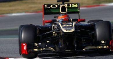 F1: Romain Grosjean é novamente o mais rápido em Barcelona