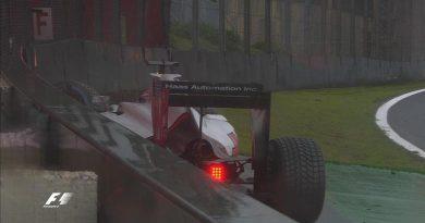 F1: Romain Grosjean bate na volta de aquecimento. Largada adiada em Interlagos