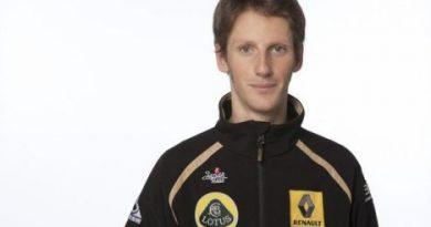 """F1: Renault confirma Grosjean e deseja """"tudo de bom"""" a Bruno Senna"""