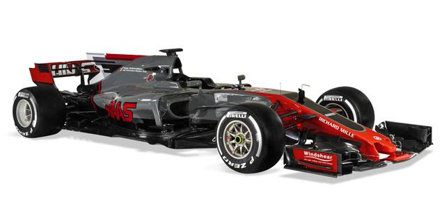 F1: Haas apresenta o VF17