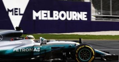 F1: Lewis Hamilton marca o melhor tempo no primeiro treino na Austrália