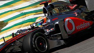 F1: Lewis Hamilton é o mais rápido em Interlagos