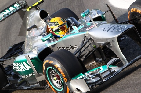F1: Lewis Hamilton é o mais rápido na Coreia do Sul