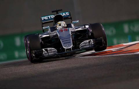 F1: Lewis Hamilton marca a pole em Abu Dhabi