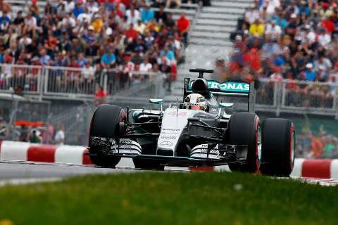 F1: Lewis Hamilton marca a pole no Canadá
