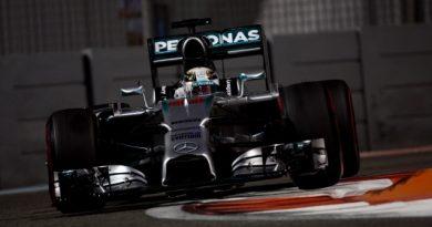 F1: Lewis Hamilton é o mais rápido em Abu Dhabi