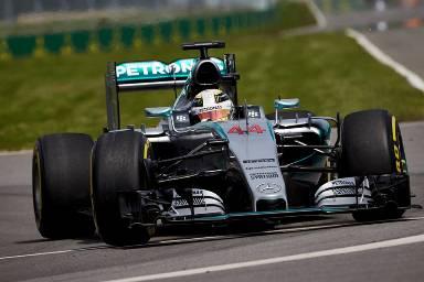 F1: Lewis Hamilton é o mais rápido em Montreal