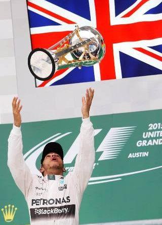 F1: Em prova emocionante, Lewis Hamilton vence GP dos EUA e conquista o tricampeonato