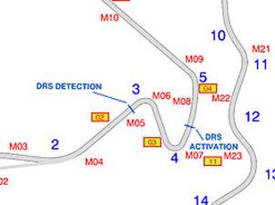 F1: Silverstone terá somente uma zona de ativação do DRS