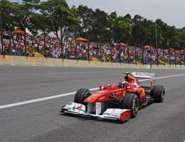 F1: Massa crê em chuva para corrida 'bem diferente'