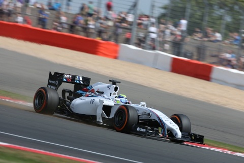 F1: Felipe Massa é o mais rápido em Silverstone
