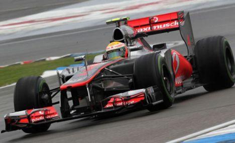F1: Jenson Button faz o melhor tempo na Alemanha