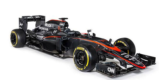 F1: McLaren apresenta novo visual do MP4-30