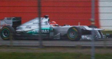 F1: Veja a primeira foto do modelo da Mercedes para 2012