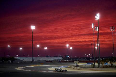 F1: Mercedes mantém domínio no Bahrein